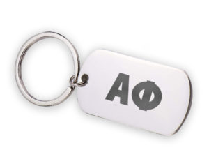 ALPHAPHI-stainlessletterskeychain
