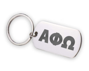 APHIO-stainlessletterskeychain