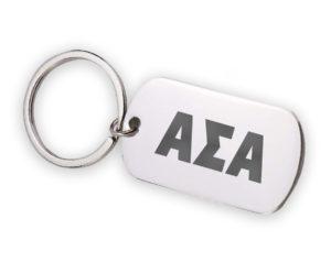 ASA-stainlessletterskeychain