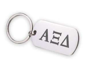 AXID-stainlessletterskeychain