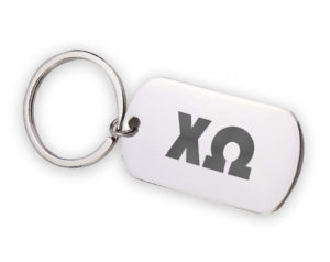 CHIO-stainlessletterskeychain