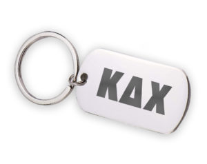 KDX-stainlessletterskeychain