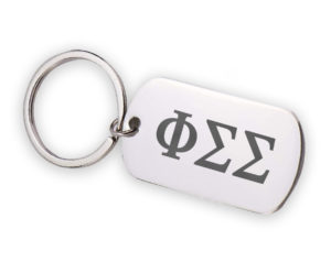 PSS-stainlessletterskeychain
