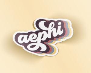 aephi-retrosticker