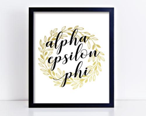 aephigoldwreathprint