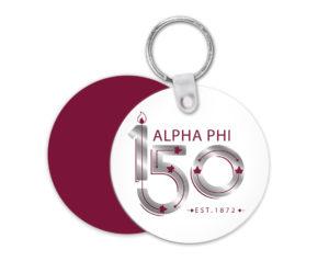 alphaphi-150yearslogokeychain
