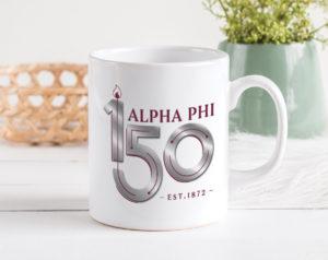 alphaphi-150yearslogomug