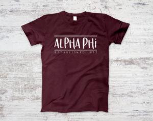 alphaphi-establishedtee