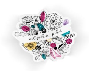 alphaphi-flowersticker