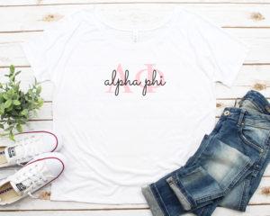 alphaphi-lettersscriptflowtytee