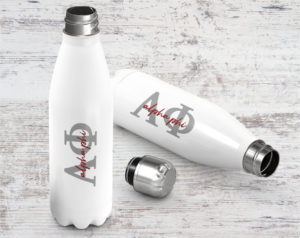 alphaphi-lettersscriptstainlessbottle