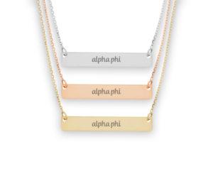 alphaphi-script-barnecklace