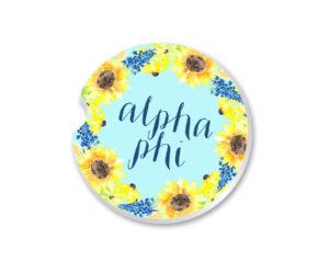 alphaphi-sunflowercoaster