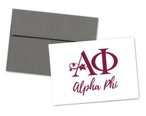 alphaphilogonotecard