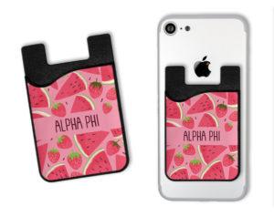 alphaphiwatermelonstrawberrycardcaddy