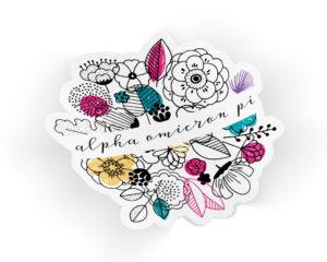 aoii-flowersticker