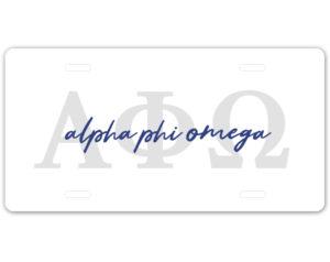 aphio-lettersscriptplate