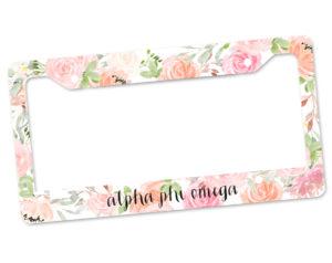 aphio-pinkfloralframe