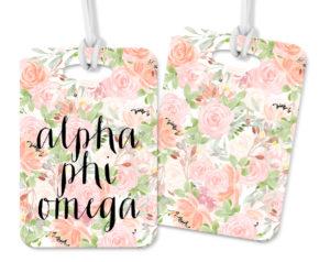 aphio-pinkfloralluggagetag