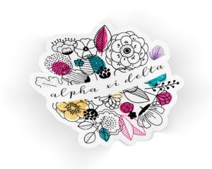 axidelta-flowersticker