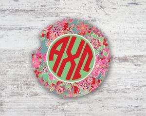 axo-floralmonogramcoaster