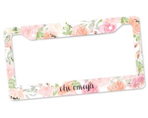chio-pinkfloralframe