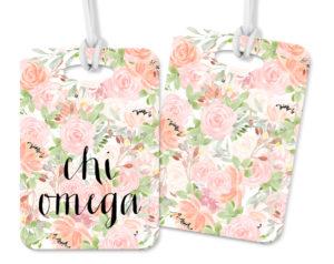 chio-pinkfloralluggagetag