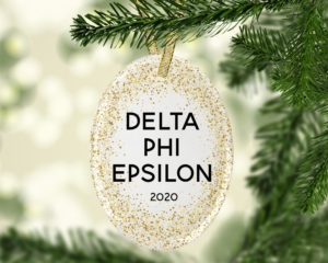 dphie-goldfleckovalornament