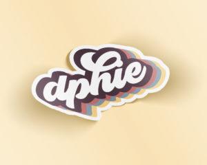 dphie-retrosticker