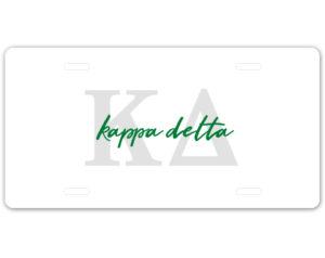 kd-lettersscriptplate