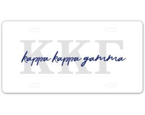 kkg-lettersscriptplate