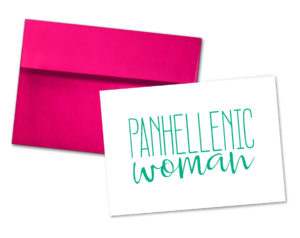 panhellenicwomannotecard