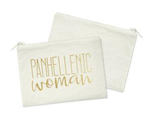 panwomangoldfoilcosmeticbag