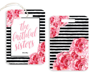 phimu-stripedfloralscript-luggagetag