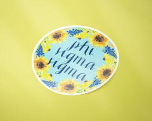 phisig-sunflowersticker