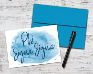 phisig-watercolorscriptnotecard