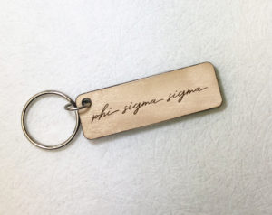 phisig-woodenscriptkeychain