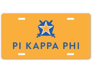 pikappaphi-logolicenseplate
