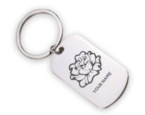 piphi-carnation-stainlesskeychain