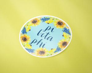 piphi-sunflowersticker
