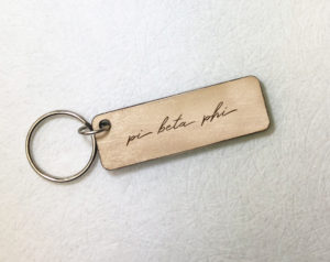 piphi-woodenscriptkeychain