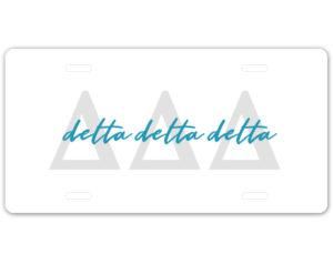 tridelta-lettersscriptplate