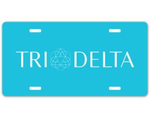 tridelta-logolicenseplate