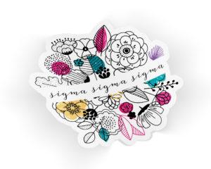 trisigma-flowersticker