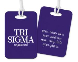trisigma-logoluggagetag