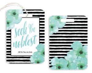 zta-stripedfloralscript-luggagetag