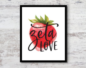 ztastrawberryprint